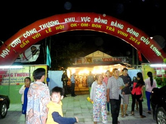 A fair in the Mekong delta ( Illustrative photo)