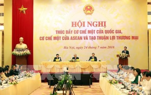 Scene at the conference (Photo: VNA)