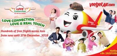 Vietjet launches biggest program connecting Asian countries