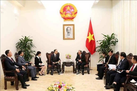 Deputy PM hosts RoK's Prosecutor General