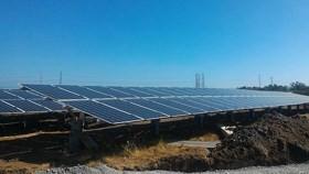 Deputy PM cuts ribbon to inaugurate Japan's solar power plant