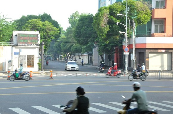 The section connecting Phan Thuc Duyen street and Tran Quoc Hoan street (Photo: SGGP)