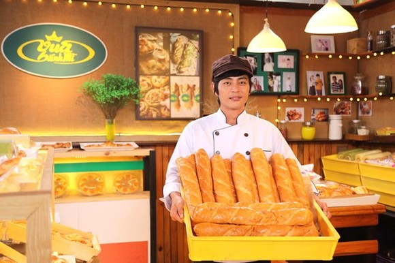 A scene in the film Vua banh mi ( King of Vietnamese bread) (Photo: SGGP)