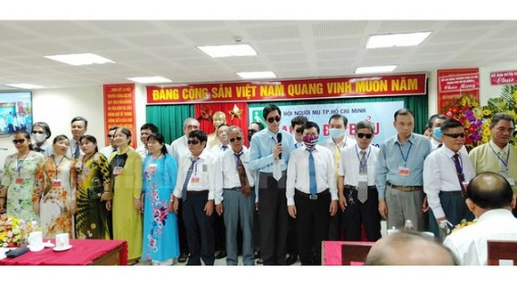 At the office of Blind Association of Ho Chi Minh City (Photo: SGGP)