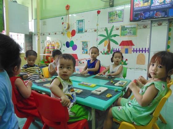 At a class in a private preschool (Photo: SGGP)