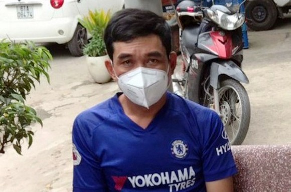 Phan Thanh Hung is arrested (Photo: SGGP)