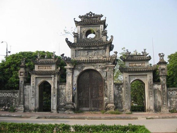 Chuong Pagoda bears historical values of the land in northern Vietnam. (Photo: giaoduc.net.vn)