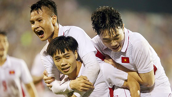 Vietnam earned three points after the opening match against Laos