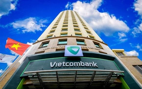 The headquarters of Vietcombank in Hanoi (Photo: VNA)