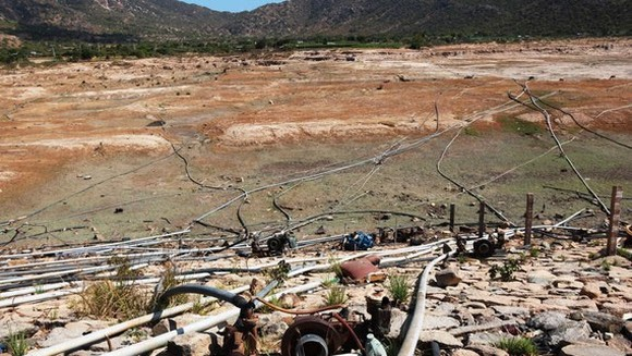 Central region is forecast to brace for the most extreme drought in the coming time. (Photo: General Department of Disaster Prevention and Control)