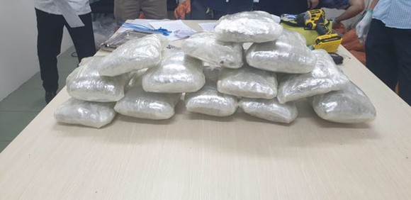 Ho Chi Minh City Police seizes over 20 kilograms of drug inside non-commercial gifts