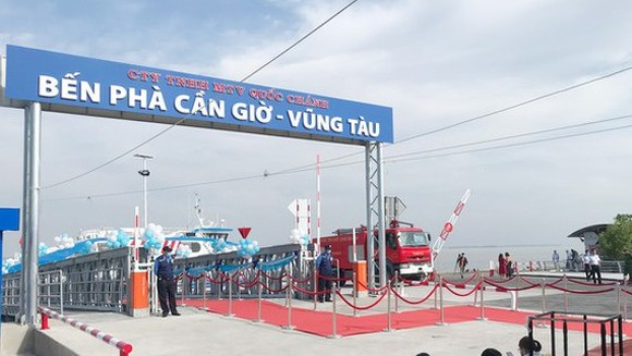 Can Gio- Vung Tau ferry terminal
