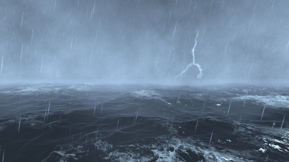 Hazardous weather warned in sea