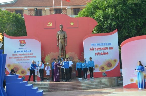 Thành đoàn TPHCM phát động đợt kỷ niệm 90 năm Ngày thành lập Đảng trong đoàn viên thanh niên ảnh 1