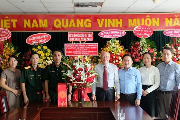Lãnh đạo TPHCM thăm các cơ quan báo chí nhân Ngày Báo chí Cách mạng Việt Nam ảnh 2