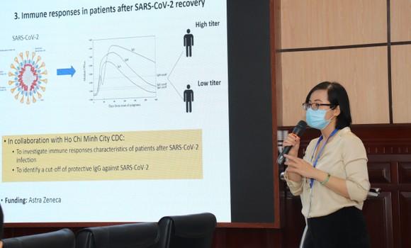Tiến sĩ Trịnh Hoàng Kim Tú đoạt giải nhất giải thưởng Tài năng trẻ ĐH Y Dược TPHCM  ảnh 1