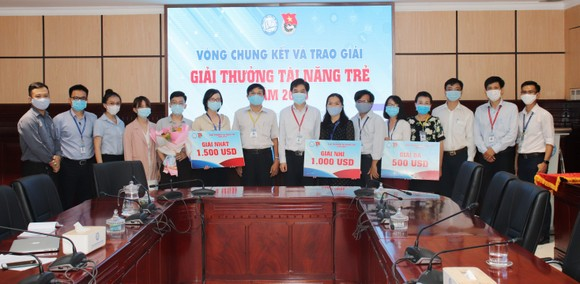 Tiến sĩ Trịnh Hoàng Kim Tú đoạt giải nhất giải thưởng Tài năng trẻ ĐH Y Dược TPHCM  ảnh 3