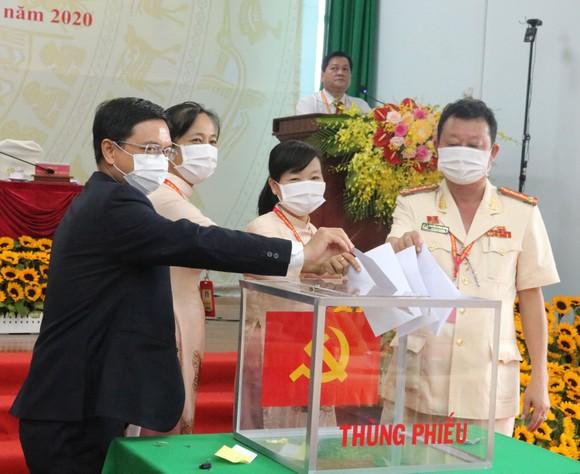 Đồng chí Nguyễn Mạnh Cường tái đắc cử Bí thư Quận ủy quận Thủ Đức ảnh 1