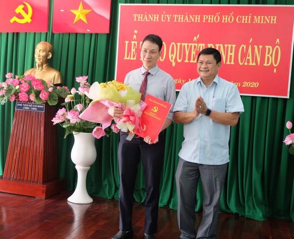 Đồng chí Trương Trung Kiên làm Phó Bí thư Quận ủy quận Thủ Đức ảnh 1