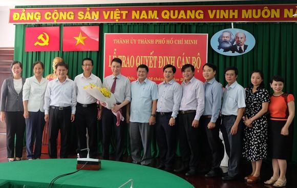 Đồng chí Trương Trung Kiên làm Phó Bí thư Quận ủy quận Thủ Đức ảnh 2