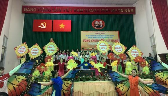 Quận 9: Đảng bộ phường Trường Thạnh giành giải Nhất hội thi Tuyên truyền về học tập và làm theo gương Bác ảnh 1