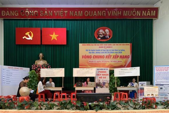 Quận 9: Đảng bộ phường Trường Thạnh giành giải Nhất hội thi Tuyên truyền về học tập và làm theo gương Bác ảnh 2