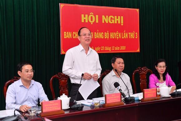 Huyện Bình Chánh cần sớm xây dựng đề án chuyển huyện lên quận ảnh 1