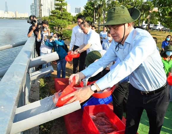 TP Thủ Đức phát động, ra quân trồng cây xanh, dọn dẹp vệ sinh môi trường ảnh 7