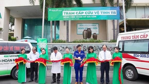 Trạm cấp cứu vệ tinh 115 thứ 27 đặt tại Bệnh viện Hoàn Mỹ Sài Gòn chính thức đi vào hoạt động