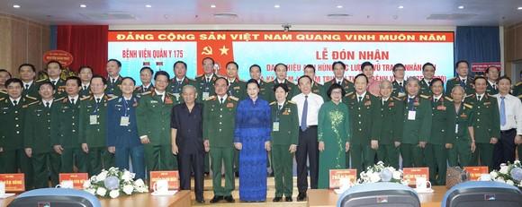 Bệnh viện Quân y 175 đón nhận danh hiệu Anh hùng Lực lượng vũ trang nhân dân ảnh 1