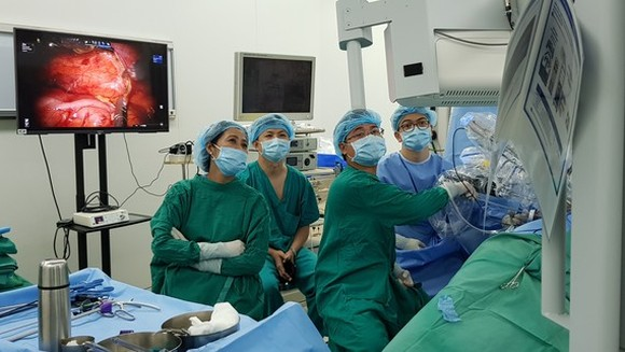Một ca ghép thận bằng robot tại Bệnh viện Chợ Rẫy