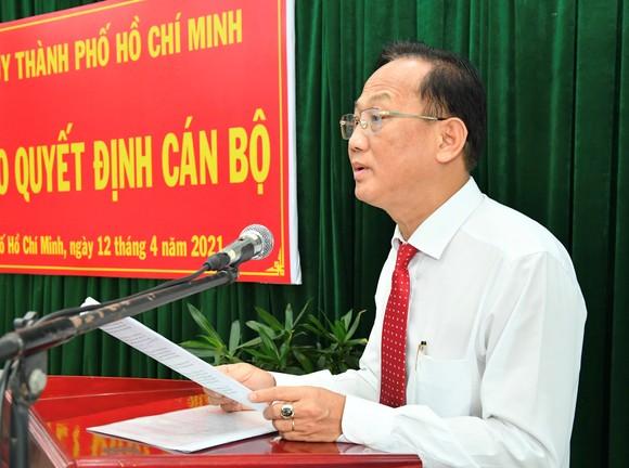 Đồng chí Trần Văn Nam làm Bí thư Huyện ủy Bình Chánh ảnh 1