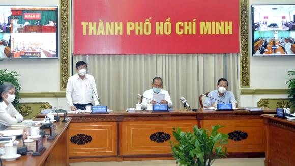Phó Thủ tướng Thường trực Trương Hòa Bình: Thực hiện quyết liệt các giải pháp để cuối tháng 7, dịch Covid-19 ở TPHCM phải giảm sâu ảnh 1