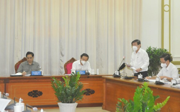 Thủ tướng Chính phủ Phạm Minh Chính: Cả nước đang mong đợi, hy vọng, trông chờ và tin tưởng vào TPHCM ảnh 1