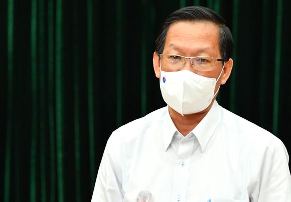 Phó Bí thư Thường trực Thành ủy TPHCM Phan Văn Mãi. Ảnh: VIỆT DŨNG