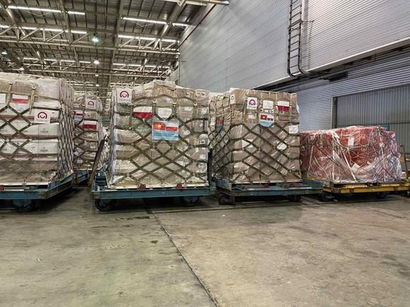 Việt Nam tiếp nhận gần 8 tấn thiết bị y tế do Ba Lan viện trợ  ảnh 1