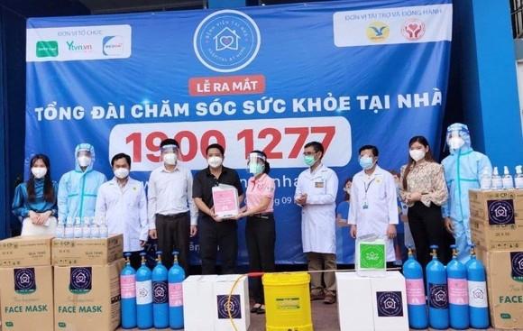 """C.P. Việt Nam đồng hành cùng dự án """"Bệnh viện tại nhà"""" hỗ trợ người dân vượt qua Covid-19. ảnh 1"""