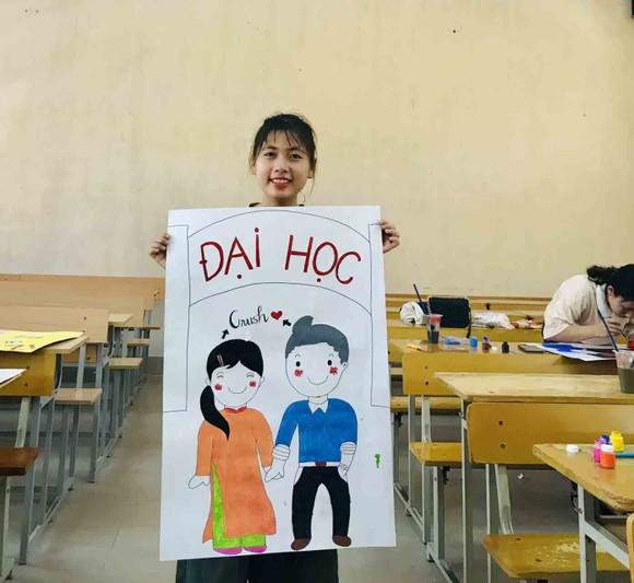 Vẽ hình HLV Park Hang-seo để cổ vũ thí sinh THPT Quốc gia năm 2019 ảnh 3