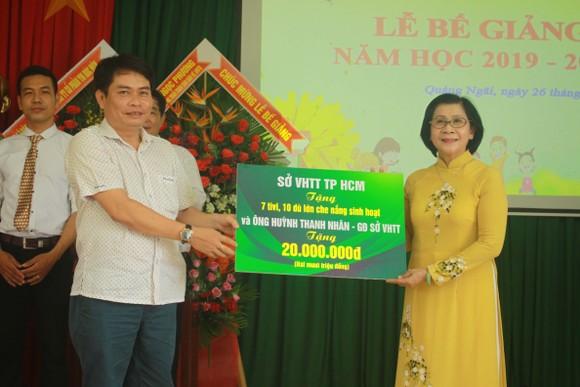 Nhiều học sinh Trung tâm Võ Hồng Sơn hòa nhập cộng đồng ảnh 5