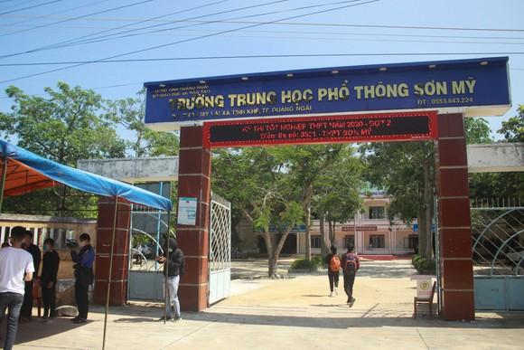 Quảng Ngãi: Hơn 390 thí sinh tham dự kỳ thi tốt nghiệp THPT đợt 2  ảnh 1