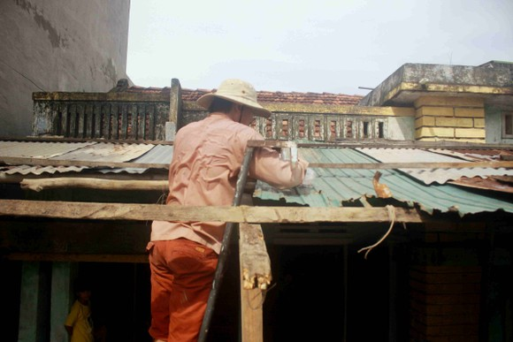Quảng Ngãi: 9 người bị thương, hàng chục hecta đất canh tác bị thiệt hại sau bão số 6 ảnh 1