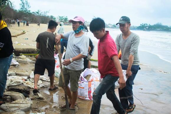 Triều cường, sóng lớn đánh sập nhà dân ở Quảng Ngãi ảnh 8