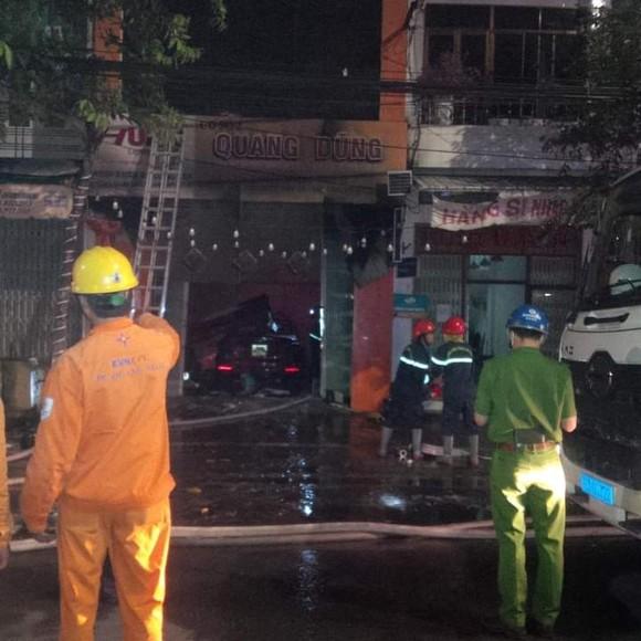 Quảng Ngãi: Hỏa hoạn cửa hàng kinh doanh, một gia đình 4 người thiệt mạng ảnh 3