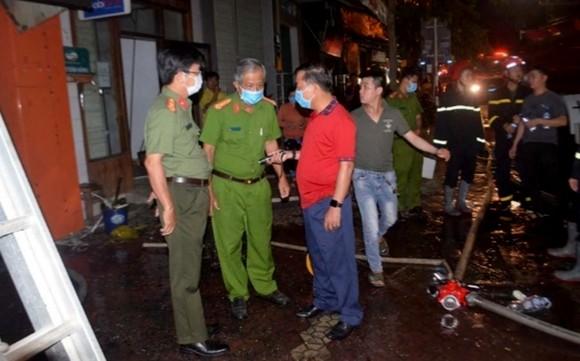 Quảng Ngãi: Hỏa hoạn cửa hàng kinh doanh, một gia đình 4 người thiệt mạng ảnh 2