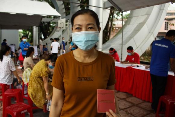 Quảng Ngãi: 600 người tham gia hiến máu tình nguyện  ảnh 4
