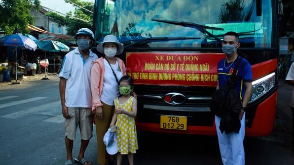 Quảng Ngãi: Đưa 23 y, bác sĩ đến Bình Dương hỗ trợ chống dịch Covid-19 ảnh 1