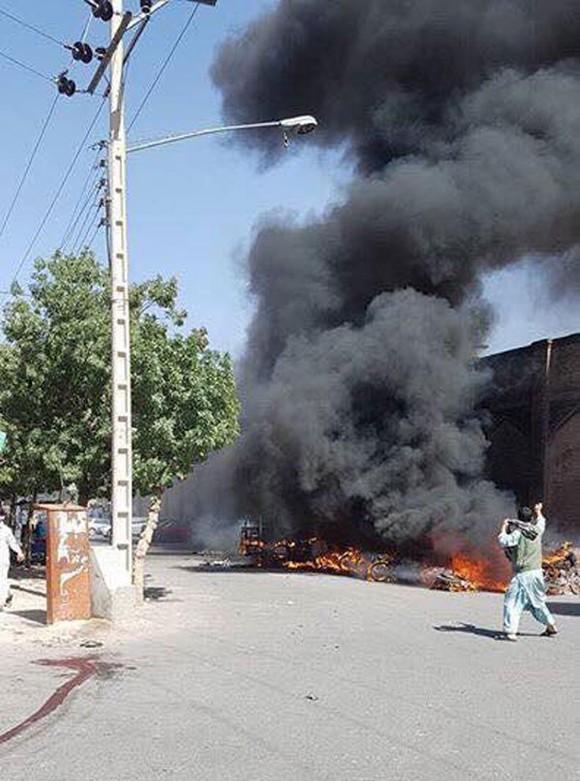 Đánh bom nhà thờ Hồi giáo ở Afghanistan  ảnh 1