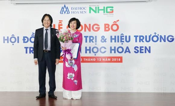 GS.TS. Mai Hồng Quỳ giữ chức Hiệu trưởng Trường Đại học Hoa Sen ảnh 2