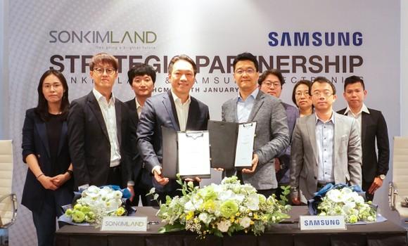 SonKim Land và Samsung Electronics ký kết hợp tác chiến lược ảnh 2