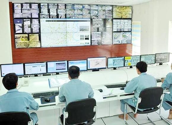 Hệ thống theo dõi tình hình giao thông tại Trung tâm Quản lý đường hầm sông Sài Gòn